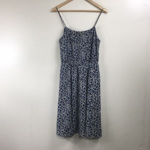J.Crew Blue Floral Sundress